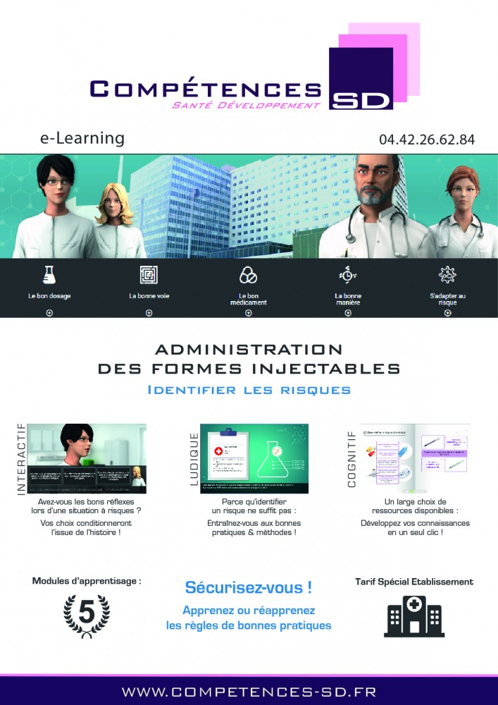 Plaquette e-learning